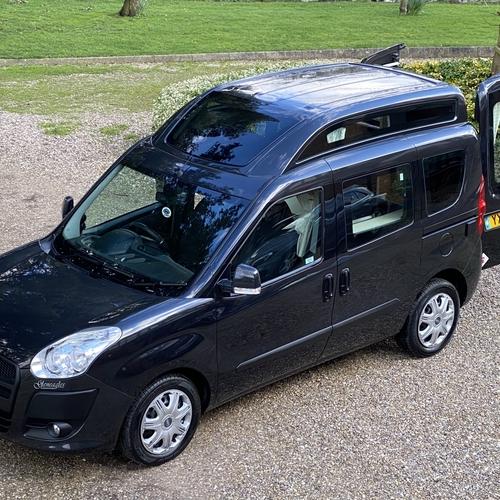 2012 Fiat Doblo Gleneagles Camper Van 1.4 Petrol 2 Berth PRO Conversion 64782mls