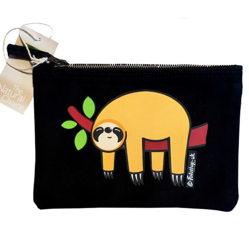 'Orange Sloth' Accessory Bag