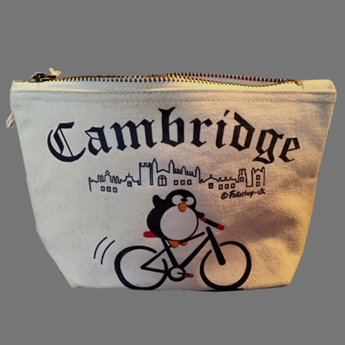 'Cambridge Cyclist' Accessory Bag