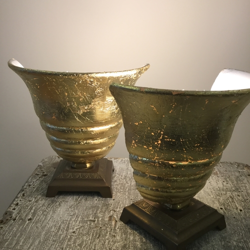 Gilded Lamps.
