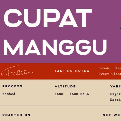 Cupat Manggu