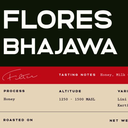 Flores Bhajawa Honey