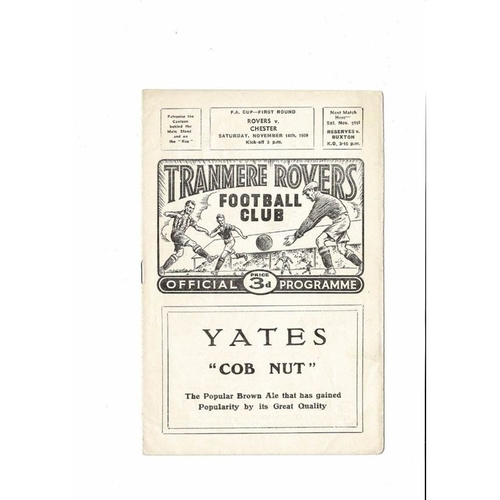 Tranmere Rovers Home Football Programmes