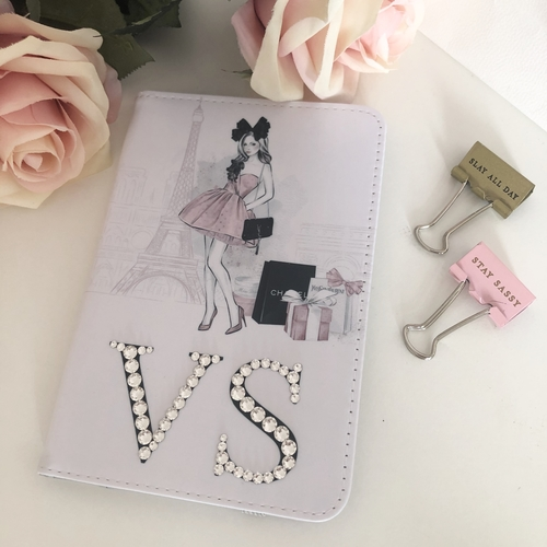 Parisian Crystal Passport Cover