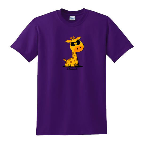 'Cute Giraffe' T-Shirt