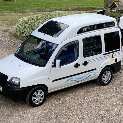 2006 Fiat Doblo Camper Van 1.9 Diesel 2 Berth PRO Conversion Compact Campers