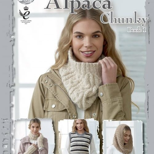 Supersoft Alpaca Chunky Book 1