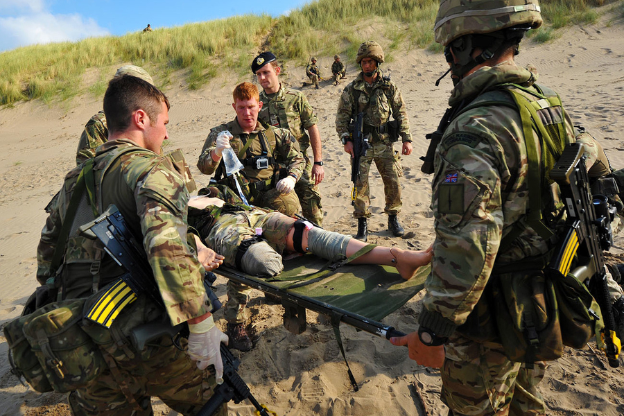 Tactical Combat Casualty Care (TCCC) - MP