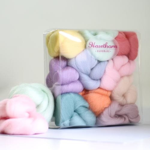 Wool Bundle for Needle Felting