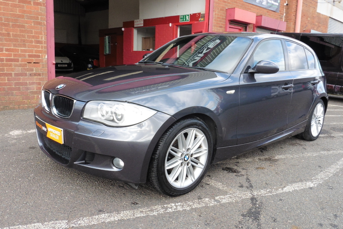 BMW 120d M-Sport 5dr - Half Leather Interior - Cup Holders