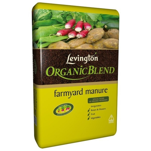 LEVINGTON 40 LITRE ORGANIC BLEND FARMYARD MANURE