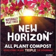 Peat Free New Horizon Compost 60l