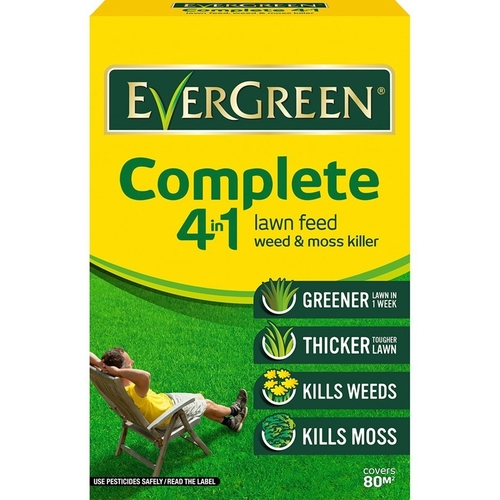 Miracle-gro evergreen complete 4 in 1 80m2