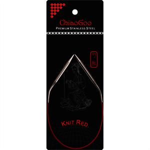 Chiaogoo Red Fixed Circular 12in (30cm)