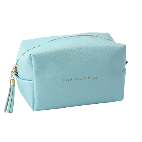 Willow and Rose Wash Bag Blue