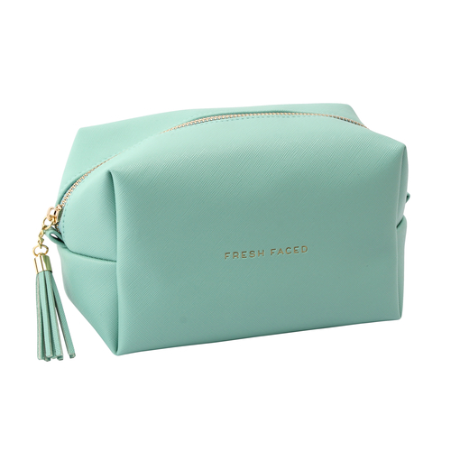 Willow and Rose Wash Bag Mint