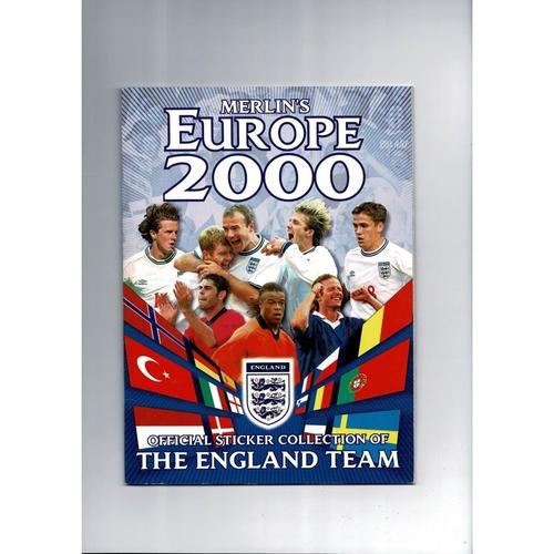 Merlin Euro 2000 sticker Album - Complete