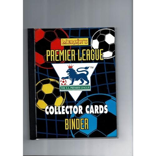 1996 Merlin Premier League Collector Cards Binder - Complete