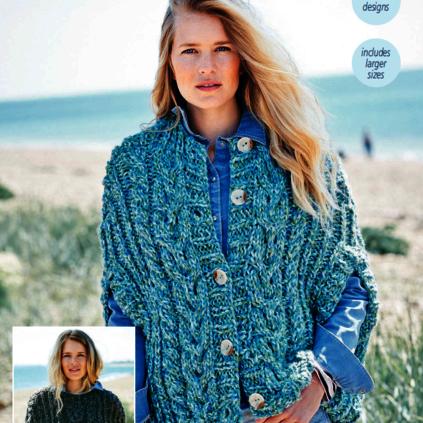 9722 Swift Knit Super Chunky Pattern