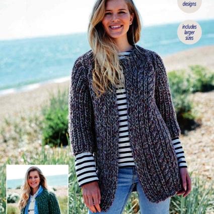 9723 Swift Knit Super Chunky Pattern