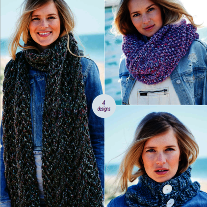 9725 Swift Knit Super Chunky Pattern
