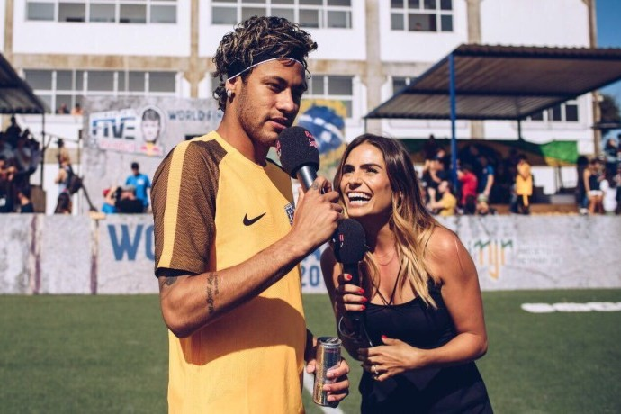 I Had Ten Seconds to Brief Neymar Jr.