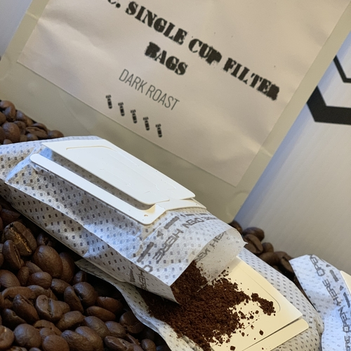 Box of 12 single cup drip coffee bags