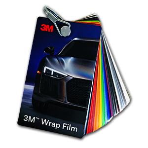 3M™ Wrap Film Series 2080/1080/8900 Swatch