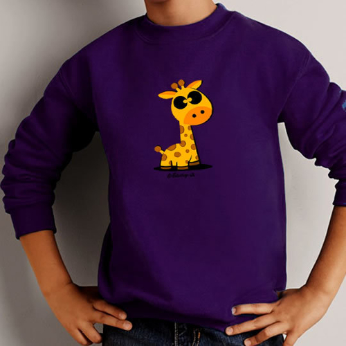 'Cute Giraffe' Sweatshirt