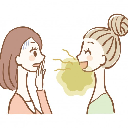 Don't let Bad Breath be a reason to Social-Distance!