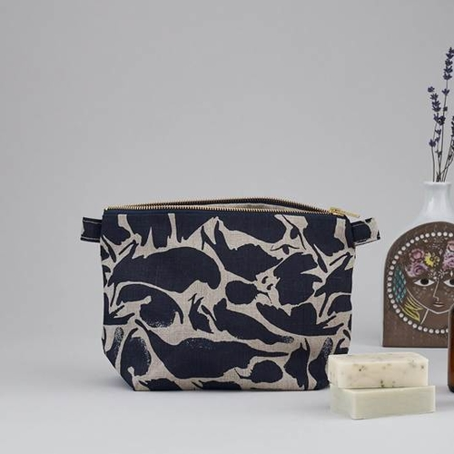 Blasta Henriet Wash Bag Navy