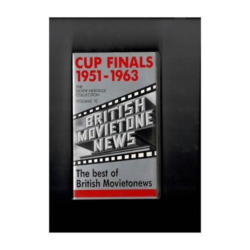 Cup Finals 1951 - 1963 Vol 10 Video
