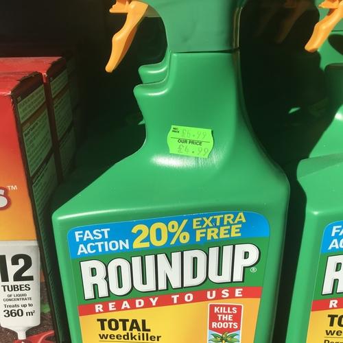 Roundup total weedkiller 1.2litre