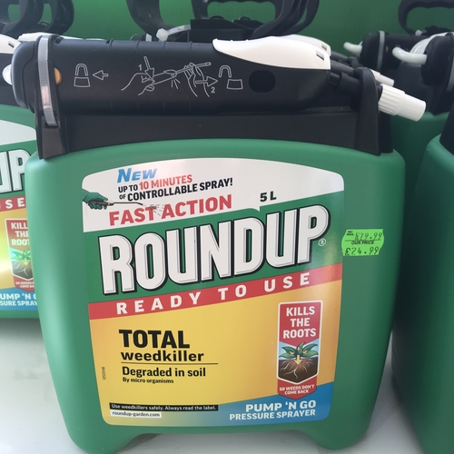 Roundup 5litre total weed killer