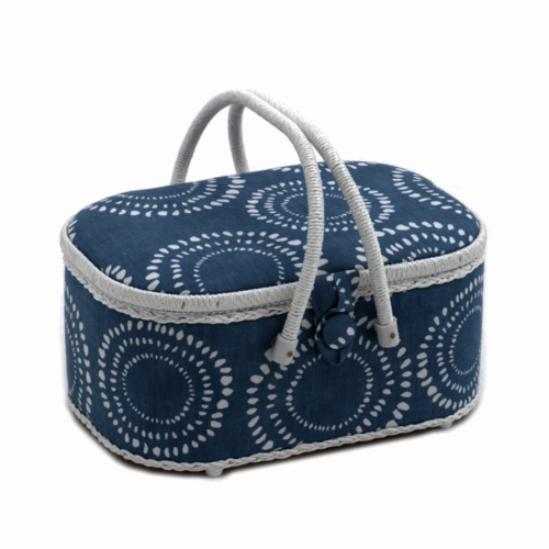 Ripples Sewing Basket Oval Large