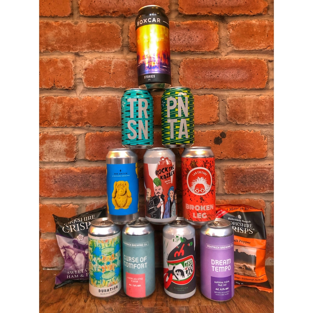 Wednesday delivery beer pack + Free snacks