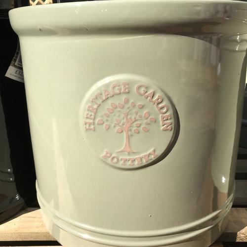 Woodlodge heritage 20cm heritage pot mint cylinder