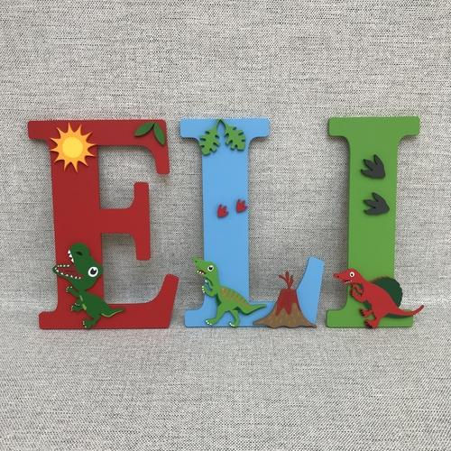 DINOSAUR THEME letters
