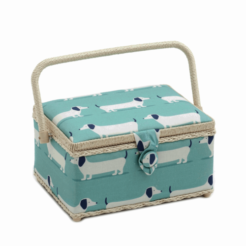 Hound Dog Sewing Box Medium