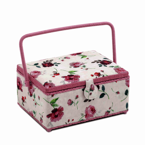 Sewing Box Rosewater Large