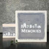 East Of India Large keepsake box-Memories/houses