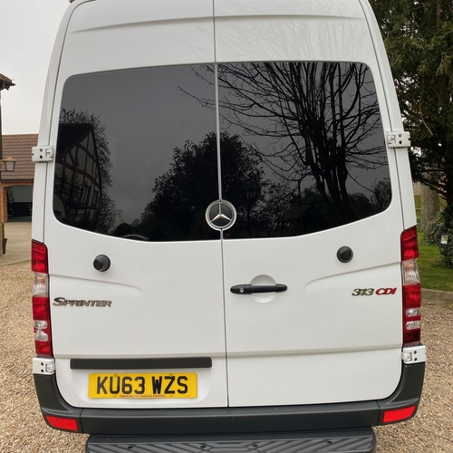 2013 (63)reg Mercedes Sprinter 313 LWB 2.1 CDi Camper Van 2 Berth PRO Conversion