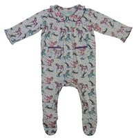 Powellcraft Unicorn Print Jumpsuit
