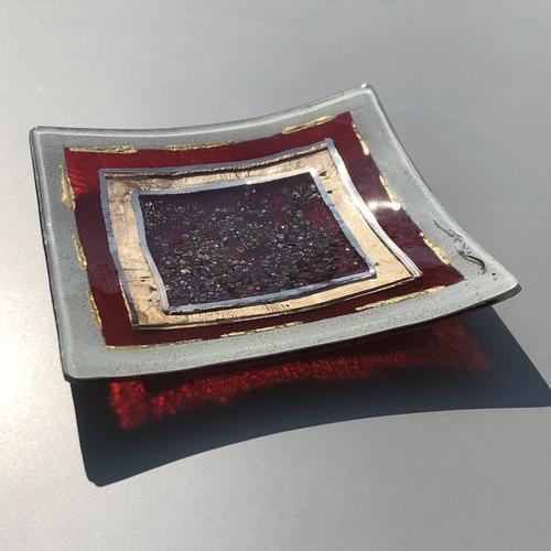 Thira Red - Decorative Plate