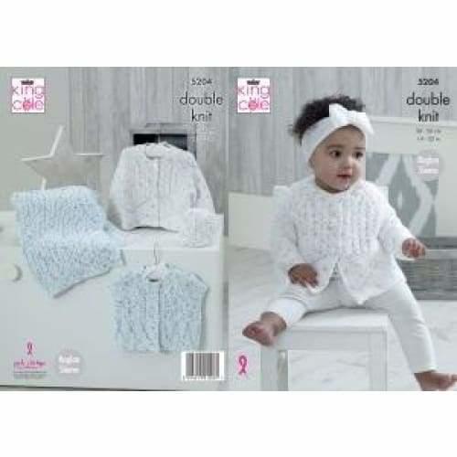 5204  Cottonsoft Candy DK Pattern