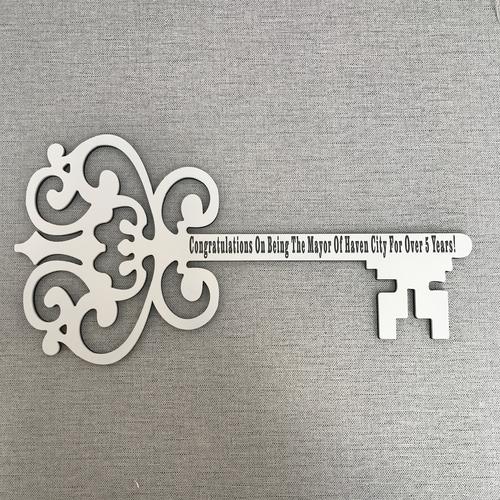 Large personalised skeleton key