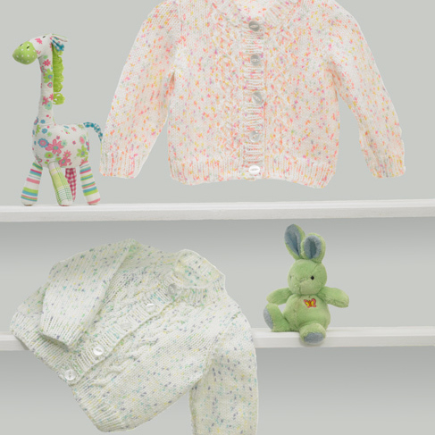 JB374 Baby Twinkle DK Knitting Pattern