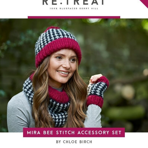 Mira Bee Stitch Accessory Pattern