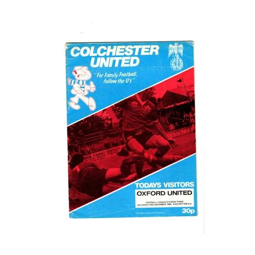 Oxford United Away Football Programmes
