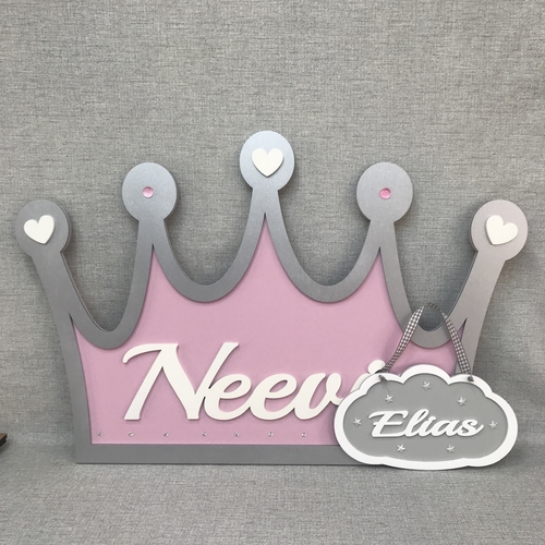 XL Princess / Prince wall plaque
